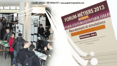 Forum Métiers de l'ENSIACET 2017