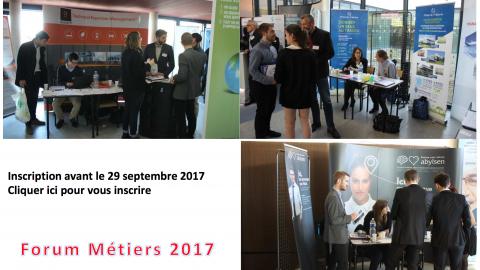 Antoine BOURSICOT au Forum Métiers 2017