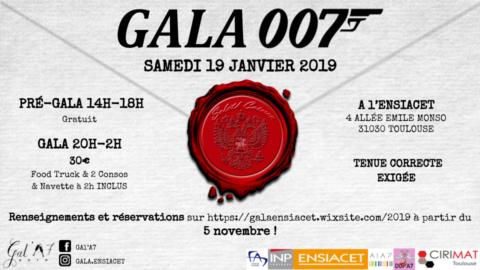 GALA A7 – Samedi 19 Janvier 2019